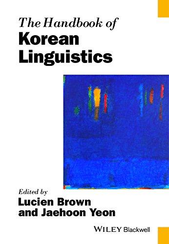 The Handbook of Korean Linguistics By Lucien Brown