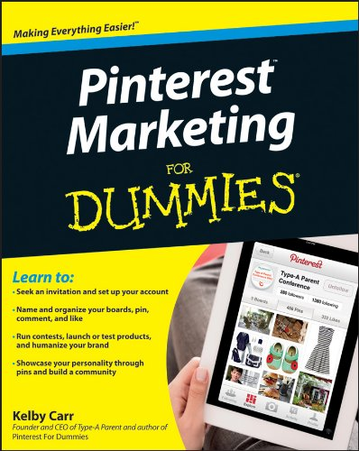 Pinterest Marketing For Dummies By Kelby Carr