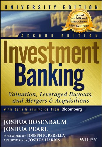 Investment Banking By Joshua Pearl