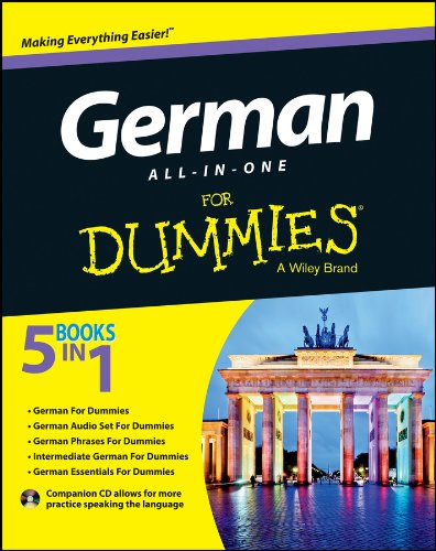 German All-in-One For Dummies: with CD By Wendy Foster