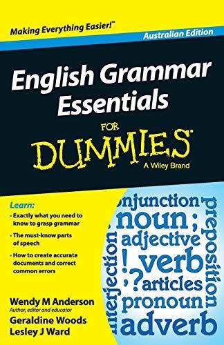 English Grammar Essentials For Dummies - Australia, Aus... by Anderson, Wendy M.