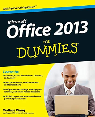 Office 2013 For Dummies By Wallace Wang
