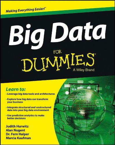 Big Data For Dummies By Judith Hurwitz