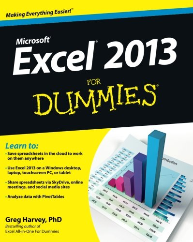 Excel 2013 for Dummies, Book By Greg Harvey