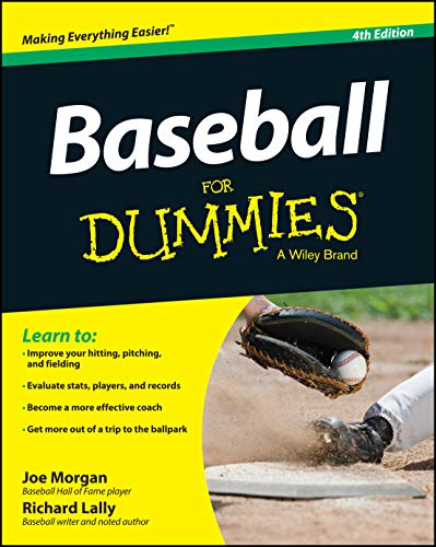 Baseball For Dummies By Joe Morgan
