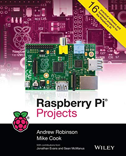 Raspberry Pi Projects by Andrew Robinson