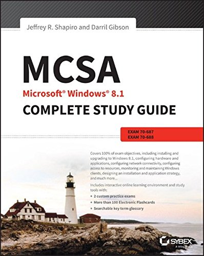 MCSA Microsoft Windows 8.1 Complete Study Guide By Darril Gibson