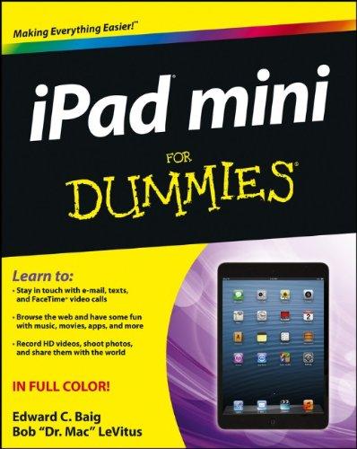 iPad Mini For Dummies by Edward C. Baig