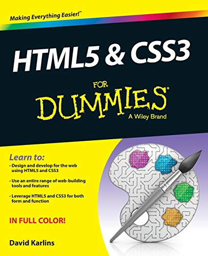 HTML5 & CSS3 For Dummies By David Karlins