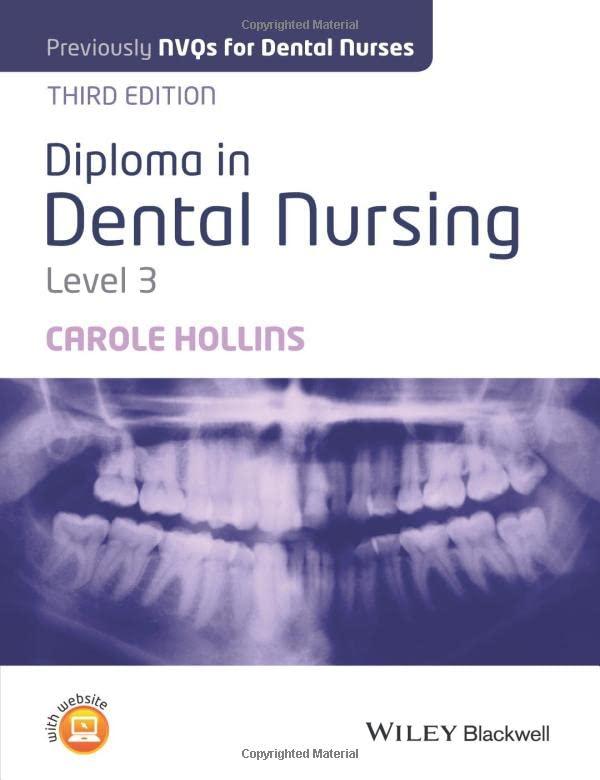 Diploma in Dental Nursing, Level 3 by Carole Hollins