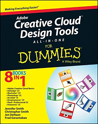 Adobe Creative Cloud Design Tools All-In-One for Dummies by Jennifer Smith