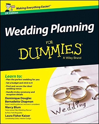 Wedding Planning for Dummies UK Edition By Dominique Douglas