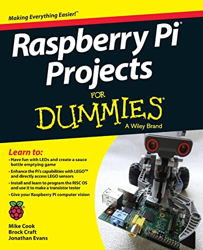 Raspberry Pi Projects For Dummies By Mike Cook