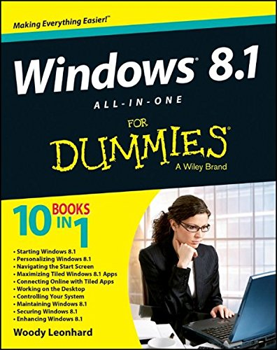 Windows 8.1 All-in-one For Dummies By Woody Leonhard