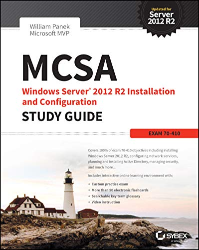 MCSA Windows Server 2012 R2 Installation and Configuration Study Guide By William Panek