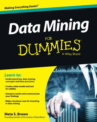 Data Mining For Dummies By Meta S. Brown