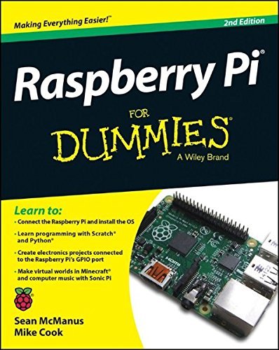 Raspberry Pi for Dummies 2E by Sean McManus