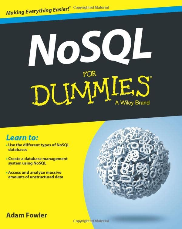 NoSQL For Dummies By Adam Fowler