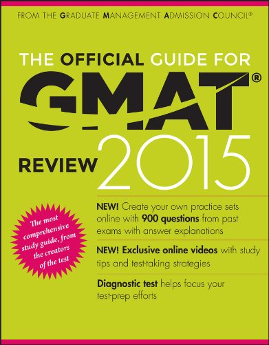 The Official Guide for GMAT Review 2015 with Online Question Bank and Exclusive Video By Graduate Management Admission Council (GMAC)