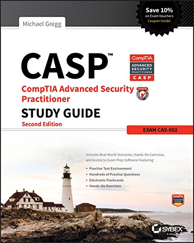 CASP CompTIA Advanced Security Practitioner Study Guide By Michael Gregg