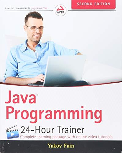 Java Programming By Yakov Fain