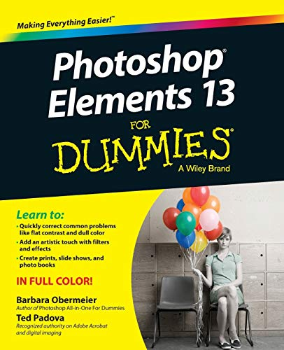 Photoshop Elements 13 for Dummies by Barbara Obermeier