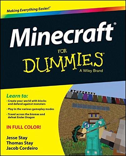 Minecraft For Dummies By Jesse Stay
