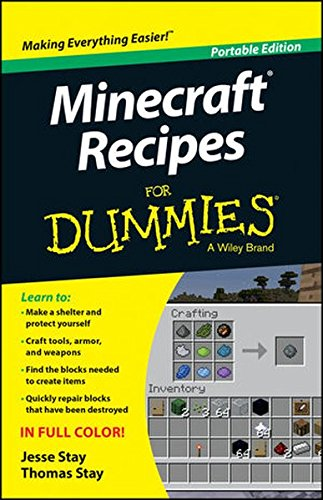 Minecraft Recipes For Dummies By Jesse Stay