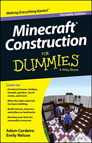 Minecraft Construction for Dummies, Portable Edition (For Dummies Series) By Adam Cordeiro