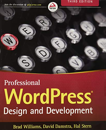 Professional WordPress By Brad Williams