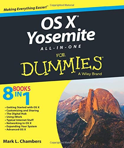 OS X Yosemite All-in-One For Dummies by Mark L. Chambers