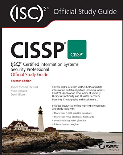 CISSP (ISC)2 Certified Information Systems Security Professional Official Study Guide By James Michael Stewart