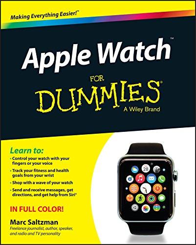 Apple Watch For Dummies By Marc Saltzman