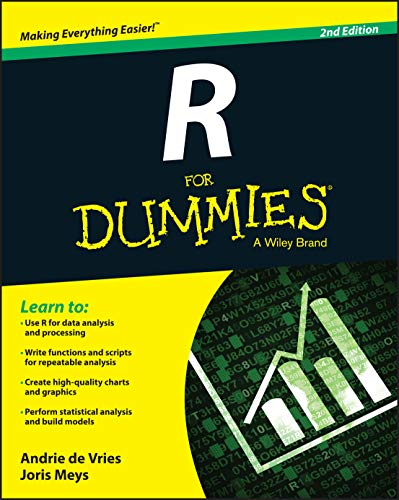 R For Dummies, 2nd Edition By Andrie de Vries