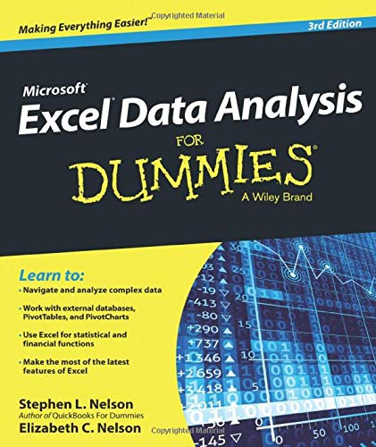 Excel Data Analysis For Dummies 3e By Stephen L. Nelson