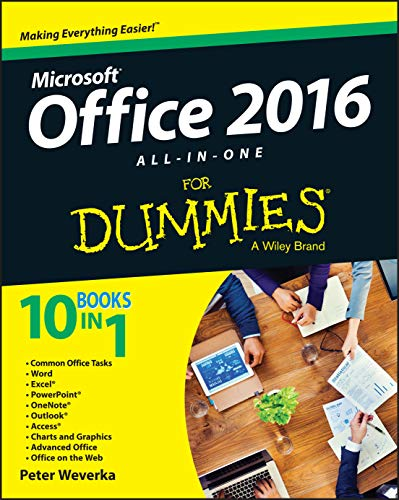 Office 2016 All-In-One for Dummies by Peter Weverka