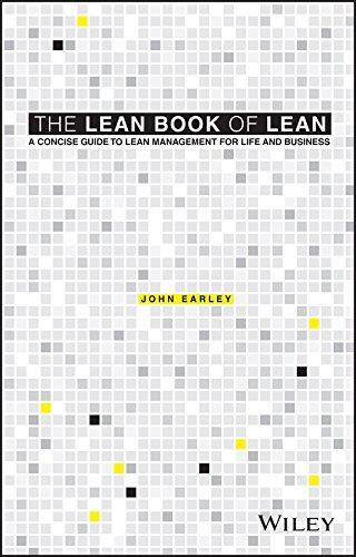 The Lean Book of Lean By John Earley