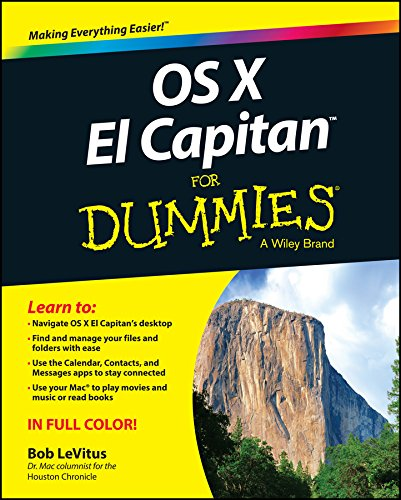 OS X El Capitan For Dummies By Bob LeVitus