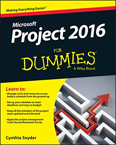 Project 2016 For Dummies By Cynthia Snyder Dionisio
