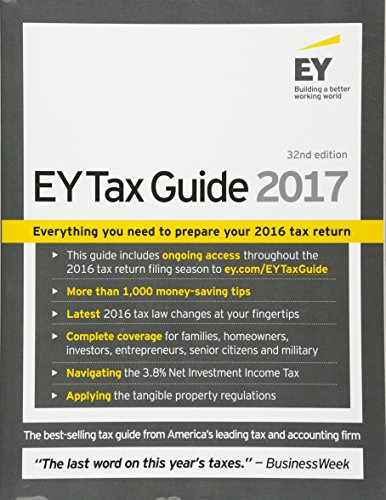 Ernst & Young Tax Guide 2017 By Ernst & Young