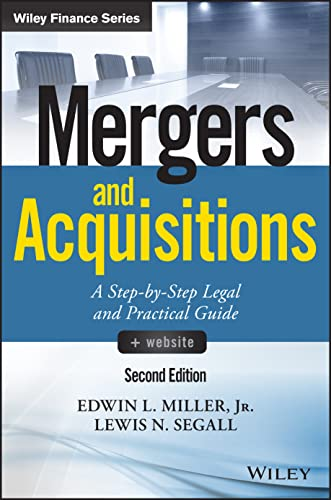 Mergers and Acquisitions By Edwin L. Miller