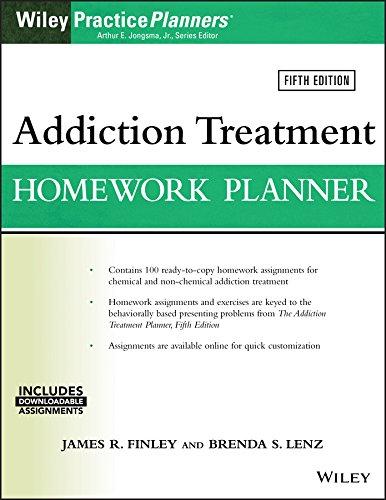 Addiction Treatment Homework Planner By James R. Finley