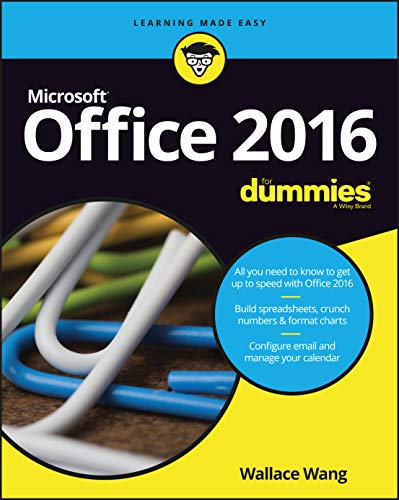 Office 2016 For Dummies Refresh (For Dummies (Computers)) By Wallace Wang