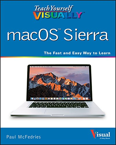 Teach Yourself VISUALLY macOS Sierra By Paul McFedries