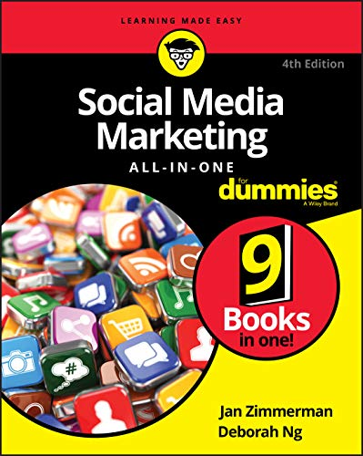Social Media Marketing All-in-One For Dummies, 4th Edition (For Dummies (Computers)) By Jan Zimmerman
