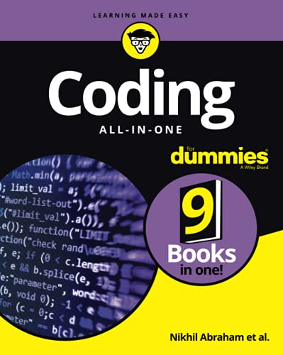 Coding All-in-One For Dummies (For Dummies (Computers)) By Nikhil Abraham