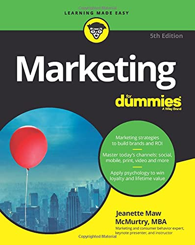 Marketing For Dummies By Jeanette Thomas McMurtry