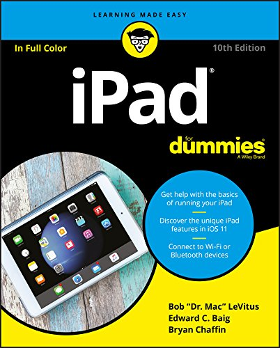 iPad For Dummies (For Dummies (Computer/Tech)) By Bob LeVitus