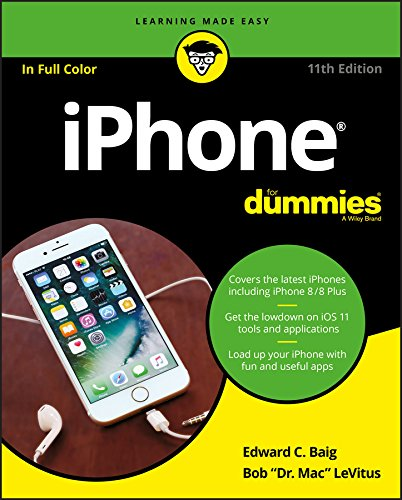 iPhone For Dummies (For Dummies (Computer/Tech)) By Edward C. Baig