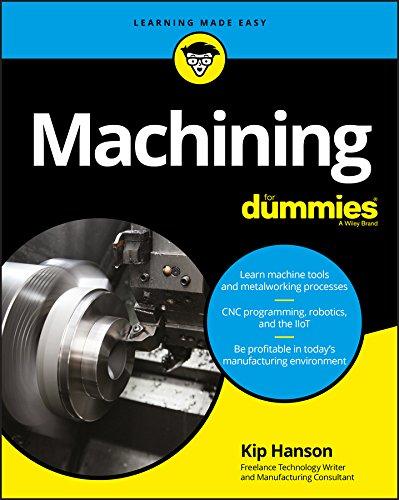 Machining For Dummies (For Dummies (Computer/Tech)) By Kip Hanson